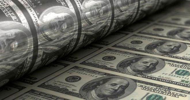 Печать 100 долларов США